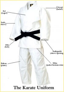 Karate Belt Tying Procedures
