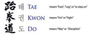 Taekwondo (a Korean Martial Art)