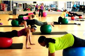 ball plank bxrank core abs exercise balance health fitness