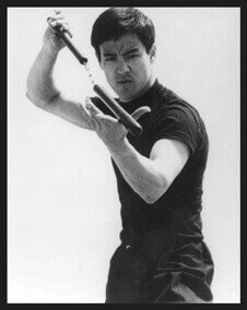 bruce lee practicing nan chack bxrank young master martial
