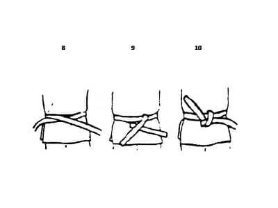 karate belt tying procedure four kung fu health fitness blog