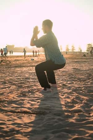 stress management exercise bxrank yoga on beach fitness blog