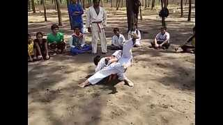 Karate Techniques at suruchi beach part 1 | Martial Art Techniques