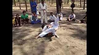 Karate Techniques at suruchi beach part 1 | Martial Art Techniques