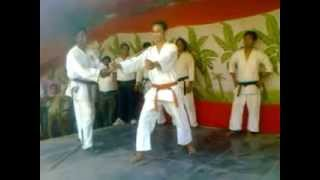 Stick breaking by Laxman singh with Gokul Martial Art karate waliv vasai