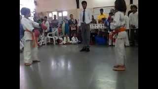 Simran Karate Fight Scene | Tournament 30 August | Vartak School | Vasai