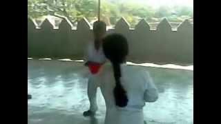 Little Dragon Karate Fight Scene